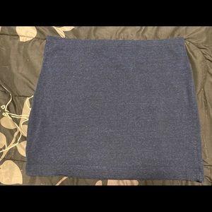 H&M navy blue mini skirt size L